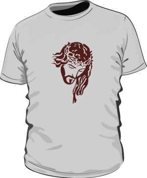 Koszulka męska szara nadruk
