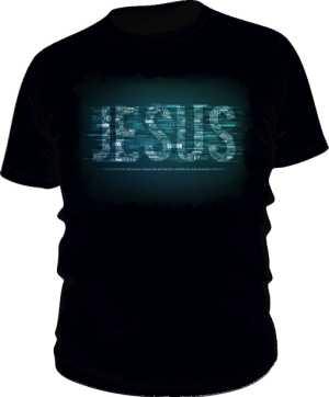 Koszulka męska czarna nadruk