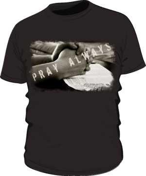 Koszulka męska czarna z nadrukiem