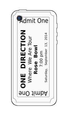 Etui Bilet 1D