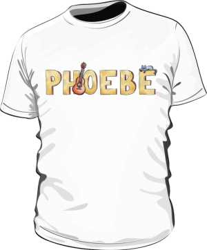Koszulka Biała Friends Męska Phoebe