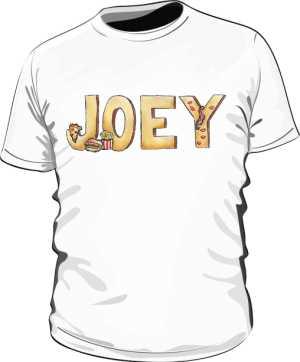 Koszulka Biała Friends Męska Joey