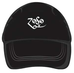 Czarna czapka Led Zeppelin ZoSo