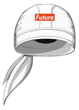 Chusta na Głowę FUTURE