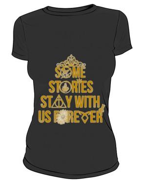Koszulka Damska Igrzyska Śmierci Gold