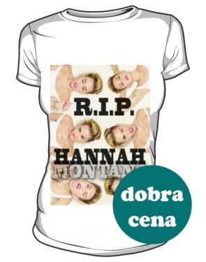 T Shirt Miley RIP HANNAH