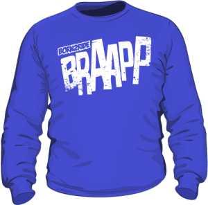 Bluza niebieska BRAAPP