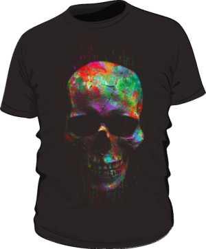 Koszulka czaszka