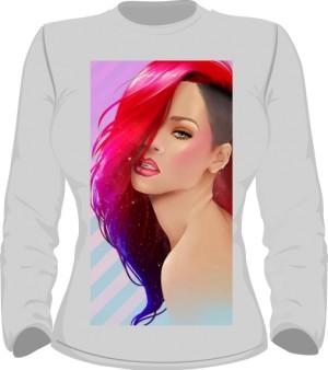Rihanna Bluza Damska Szara
