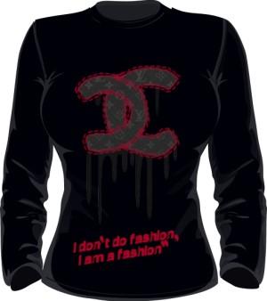 I am a Fashion Bluza Damska Czarna