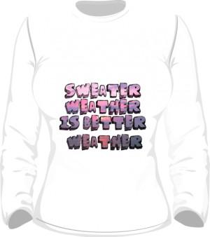 Sweater Bluza Damska Biała