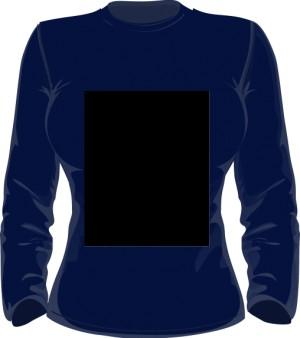 Sweater Bluza Damska Granatowa