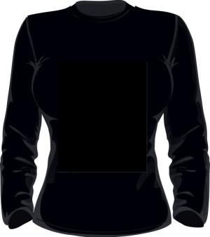 Sweater Bluza Damska Czarna