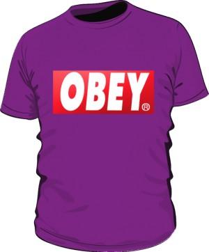 BE OBEY T Shirt Męski