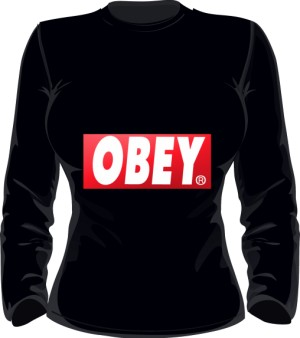 BE OBEY Bluza Damska