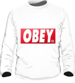BE OBEY Bluza Męska