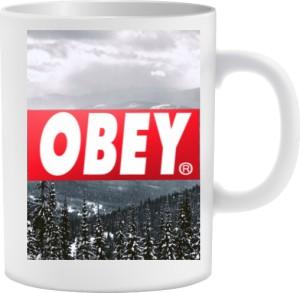 BE OBEY Kubek