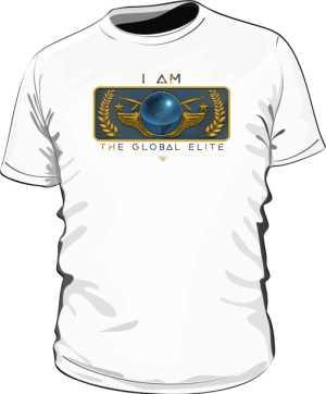 Koszulka męska I AM THE GLOBAL ELITE