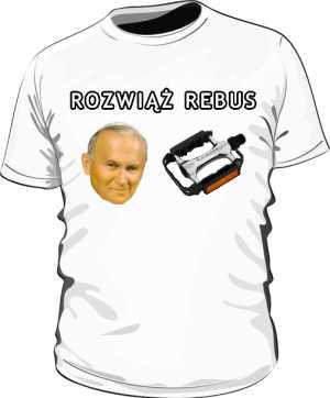 Koszulka męska ROZWIĄŻ REBUS
