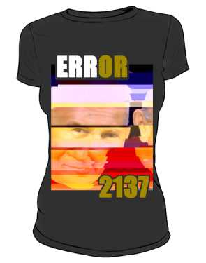 Koszulka damska ERROR