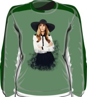 Cara D No 1 Icon Bluza Green