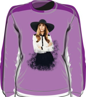 Cara D No 1 Icon Bluza Violet