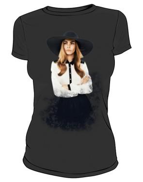 Cara D No 1 Icon T Shirt Black