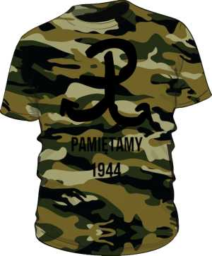 Koszulka męska morro Pamiętamy