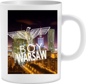 BOY WARSAW CUP Dookoła nadruk