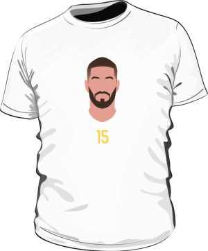 Koszulka Sergio Ramos ESP white