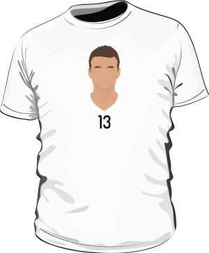Koszulka Thomas Muller biała