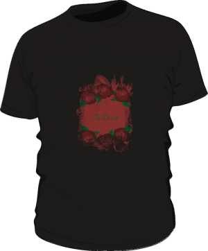 Special InDust tshirt Roses