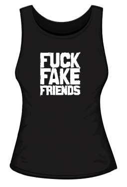 FUCK FAKE FRIENDS TOP DAMSKI