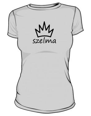 Koszulka damska SZELMA szara