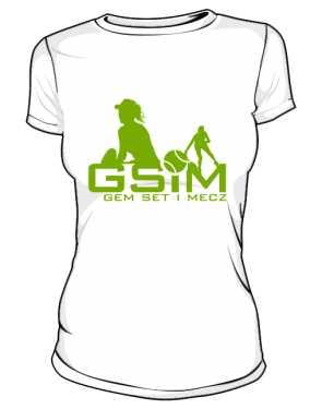Koszulka z logo GSiM