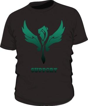 Koszulka Support Czarna