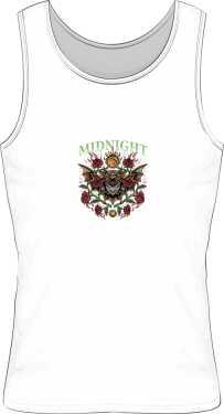 koszulka midnight biała męska