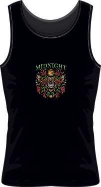 koszulka midnight czarna męska