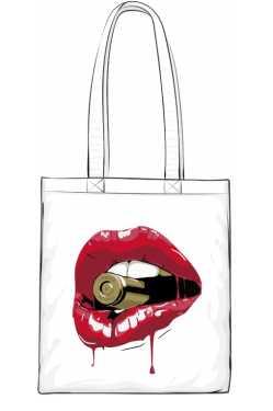 Red Lips Torba
