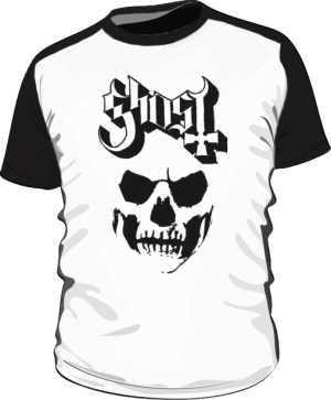Ghost baseball tee
