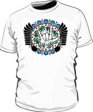 Koszulka z logo PMKTNUWRAP