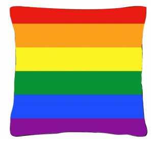 Poduszka flaga LGBT