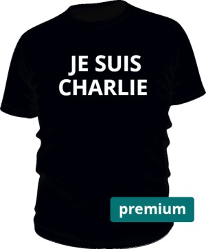 Je suis Charlie man black