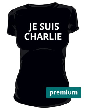 Je suis Charlie women black