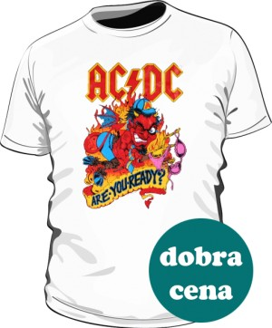 Koszulka męska ACDC Are you ready