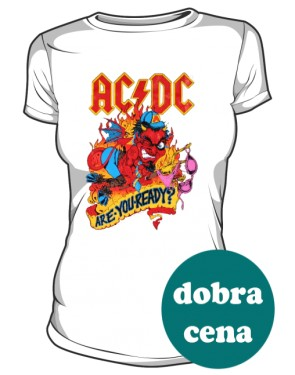 Koszulka damska ACDC Are you ready