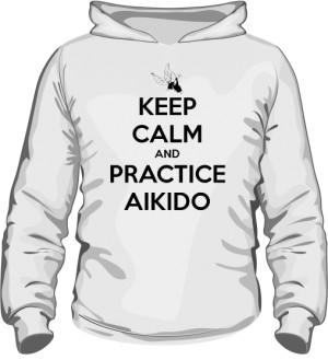Bluza z kapturem Aikido C