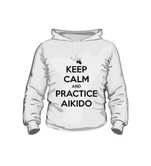 Bluza z kapturem Dziecięca AIkido C