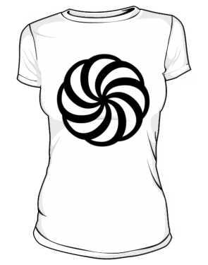 Koszulka z nadrukiem 432583