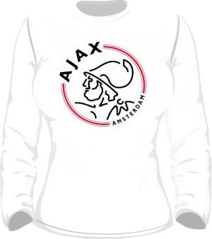 Longsleeve damski Ajax Amsterdam logo